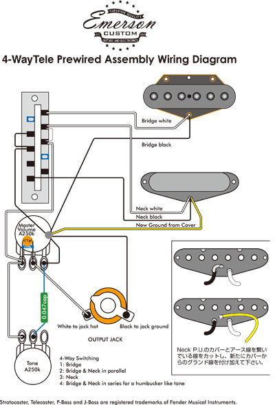 2  Way Guitar Switch Wiring Diagram on
